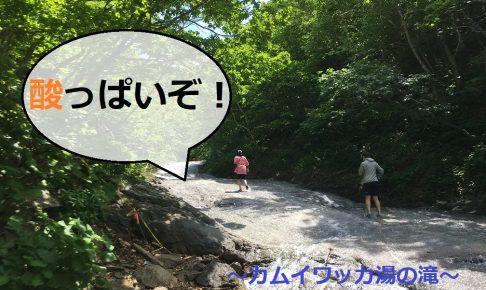 「酸っぱいぞ!」カムイワッカ湯の滝
