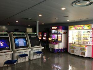新日本海フェリーはまなす ゲームコーナー