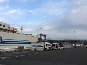 はまなす号と舞鶴港1