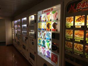 新日本海フェリーはまなす 軽食自動販売機