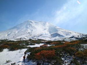 雪化粧✕紅葉の旭岳